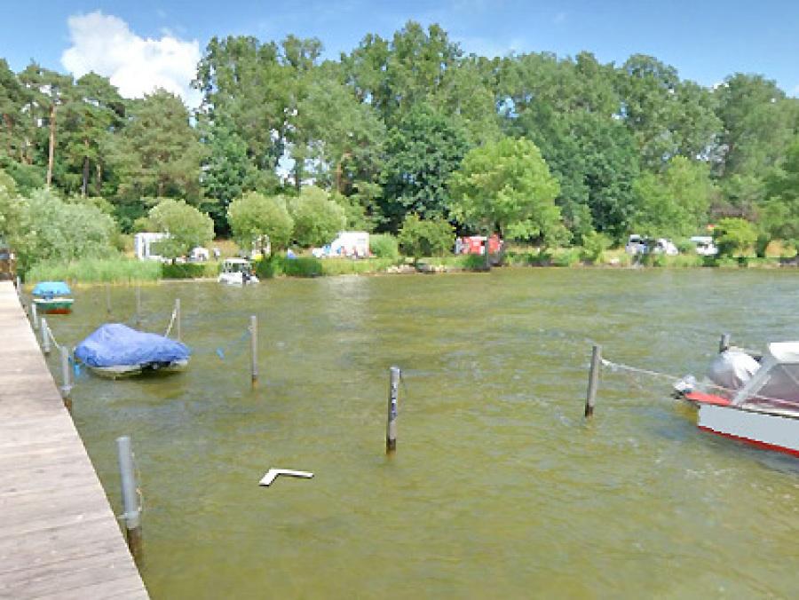 3DView Bootsanleger Bootssteg Camping am See